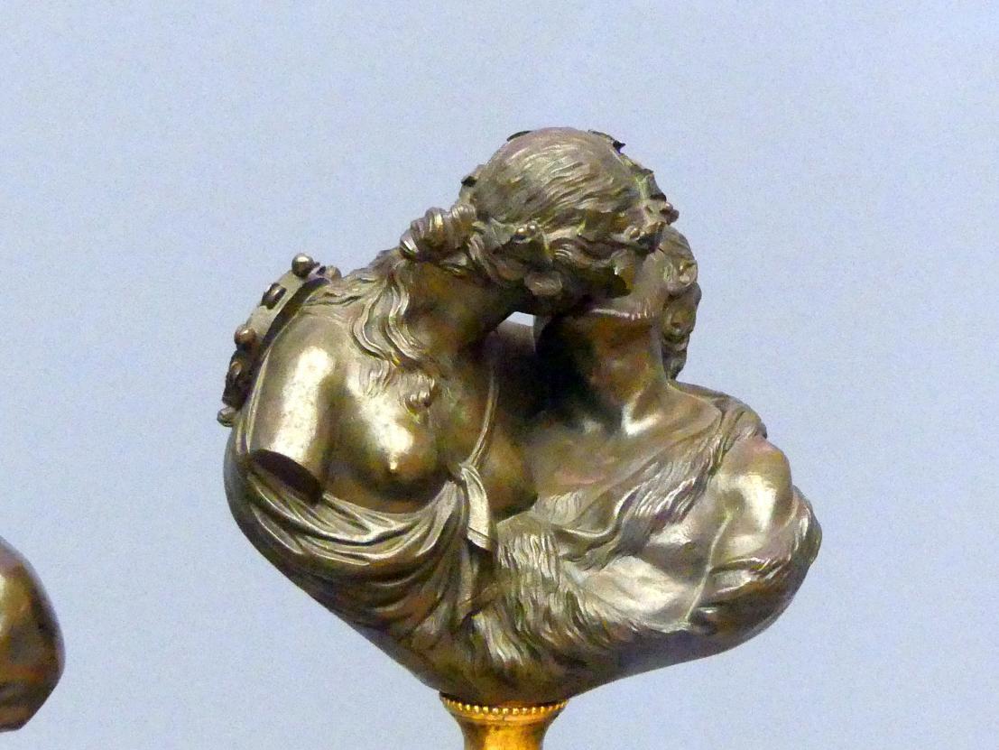 Jean-Antoine Houdon (Nachahmer): Der empfangene Kuß (Le baiser rendu), Ende 18. Jhd.