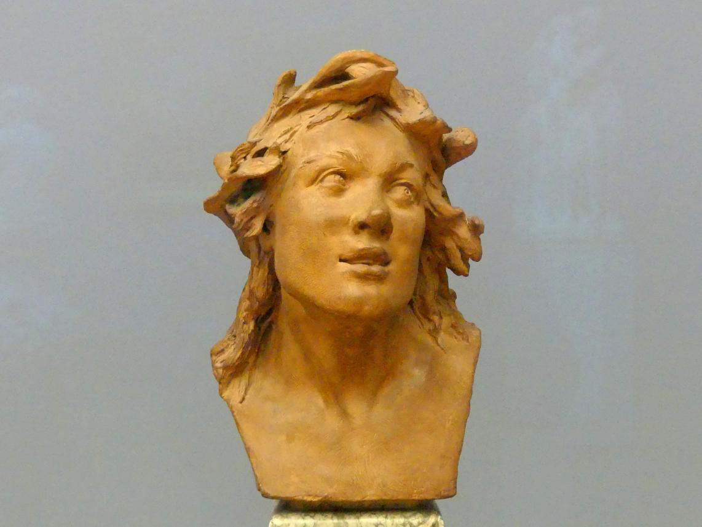 Jean-Baptiste Pigalle: Kopf eines Triton, 1735