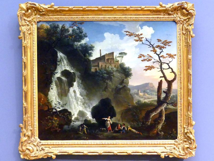 Charles François Lacroix: Die Villa des Maecenas in Tivoli, 1764