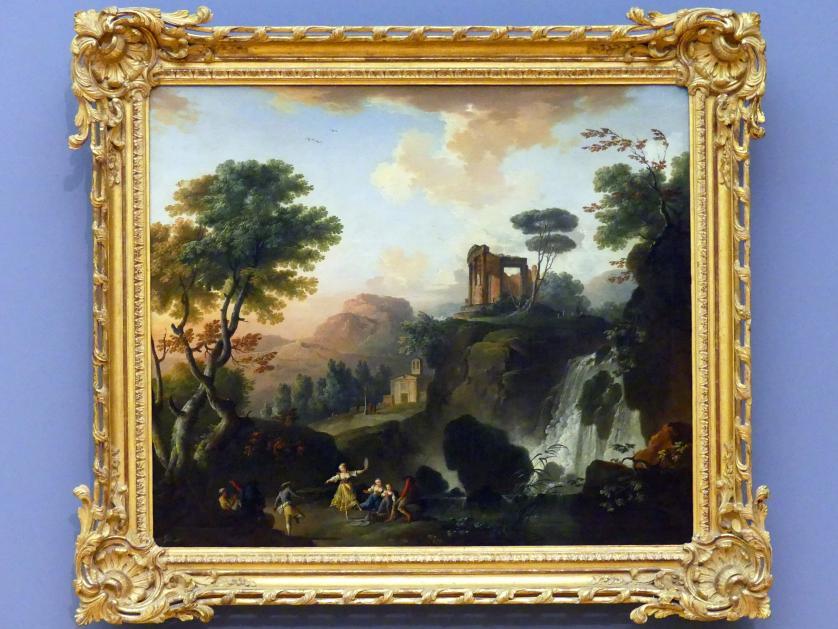 Charles François Lacroix: Der Vestatempel in Tivoli, 1764