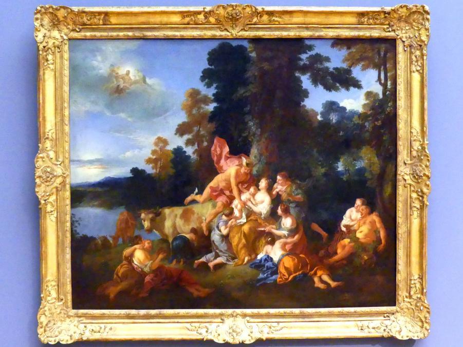 Jean François de Troy: Die Erziehung des Bacchus, 1717