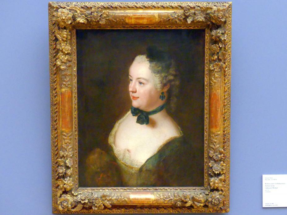 Antoine Pesne: Bildnis einer Unbekannten, um 1750