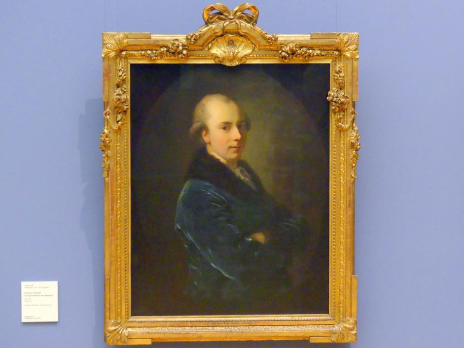 Anton Graff: Porträt Georg Friedrich von Martens, um 1780
