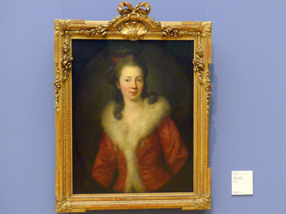 Anton Graff: Porträt Frau von Martens, um 1780