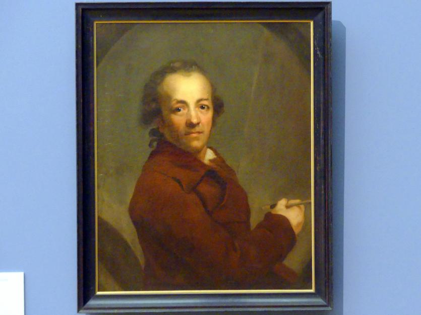 Anton Graff: Selbstbildnis, 1787