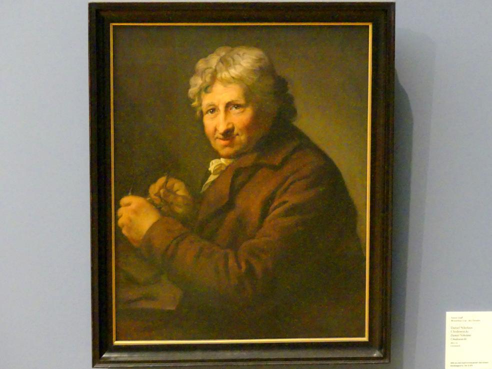 Anton Graff: Daniel Nikolaus Chodowiecki, 1800 - 1801