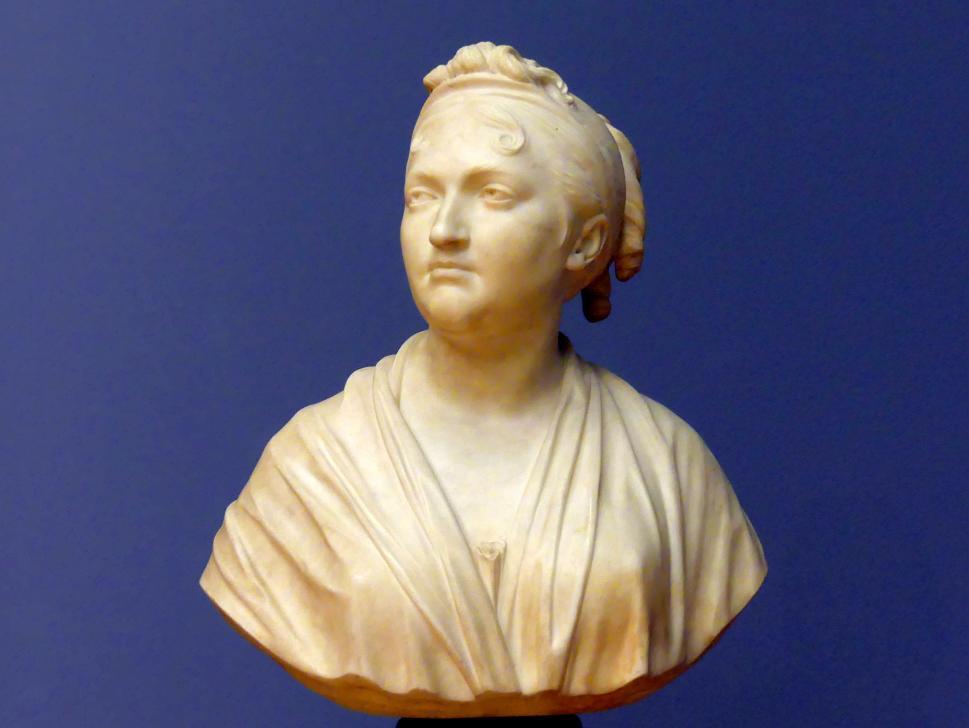 Jean-Antoine Houdon: Bildnis der Frau Dr. Dorothea von Rodde-Schlözer, 1806