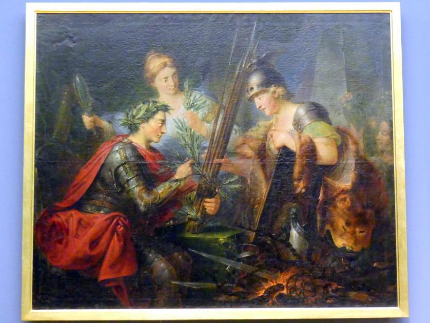 Christian Bernhard Rode: Allegorie auf Friedrich des Großen als Gründer des deutschen Fürstenbundes, 1786