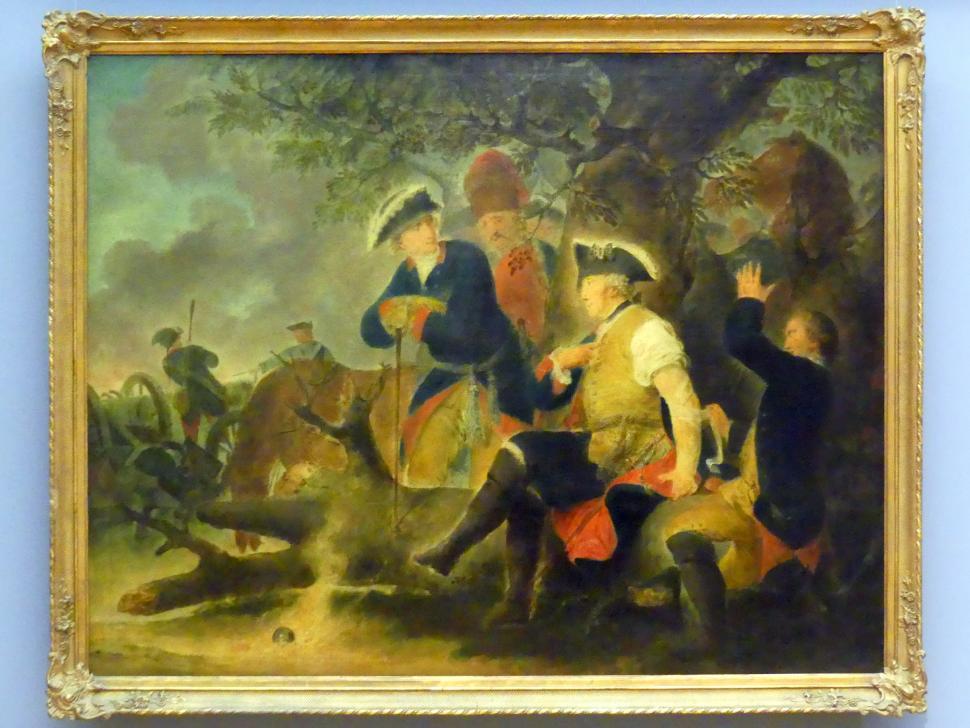 Christian Bernhard Rode: Friedrich der Große und der Feldscher, um 1793 - 1795