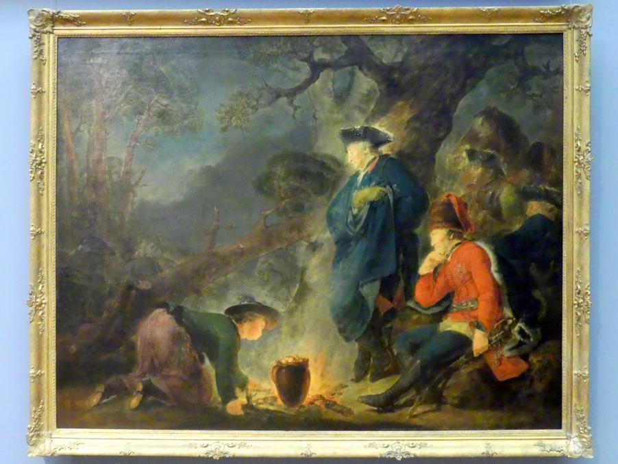 Christian Bernhard Rode: Friedrich der Große vor der Schlacht bei Torgau, 1791