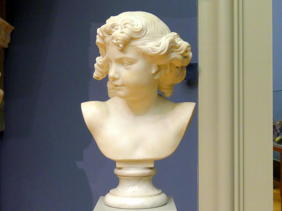 Jean-Pierre-Antoine Tassaert: Kopf eines Cupido, 1769