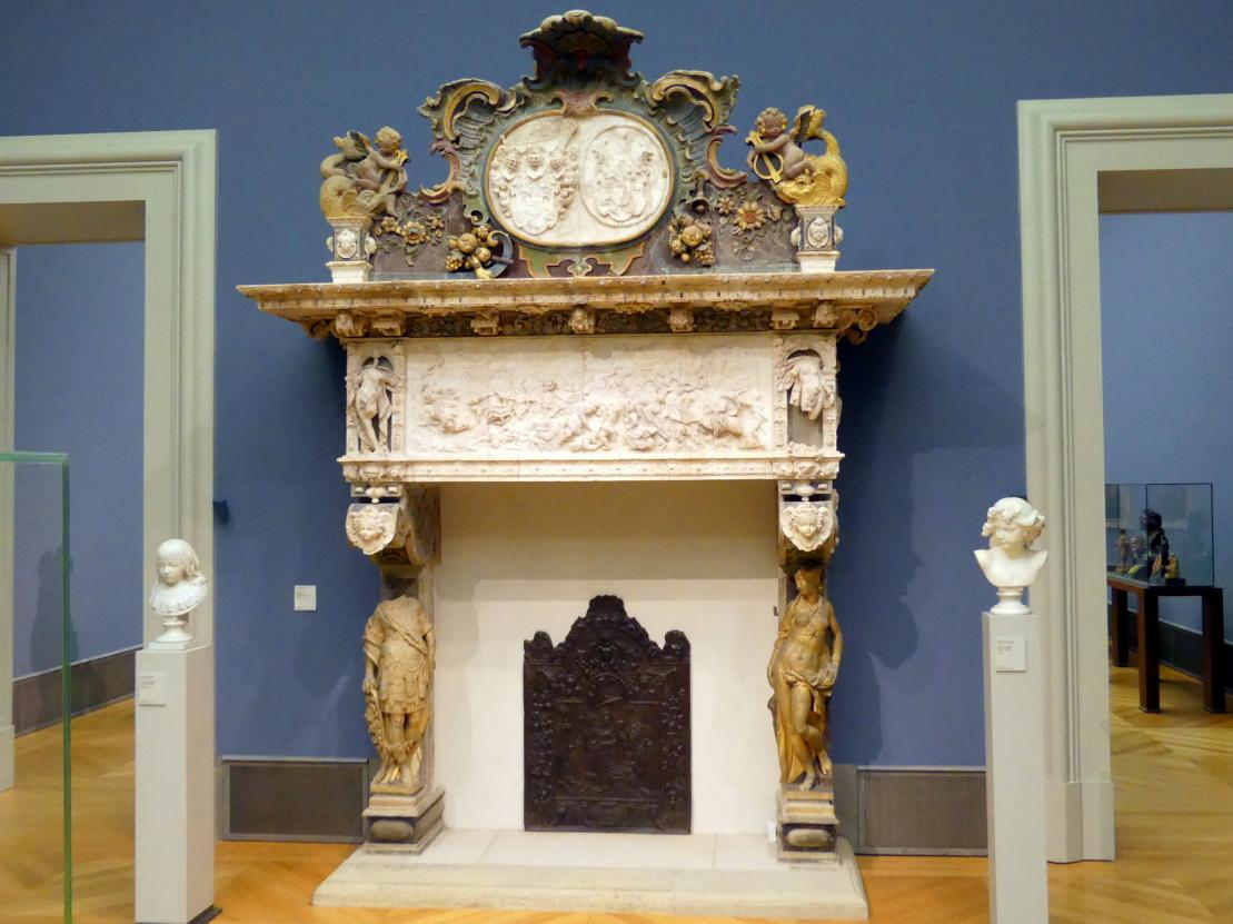 Henni Heidtrider: Kamin aus dem Schloss Husum, 1612 - 1615