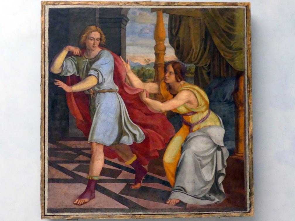 Philipp Veit: Joseph und Potiphars Weib, 1816 - 1817, Bild 1/2
