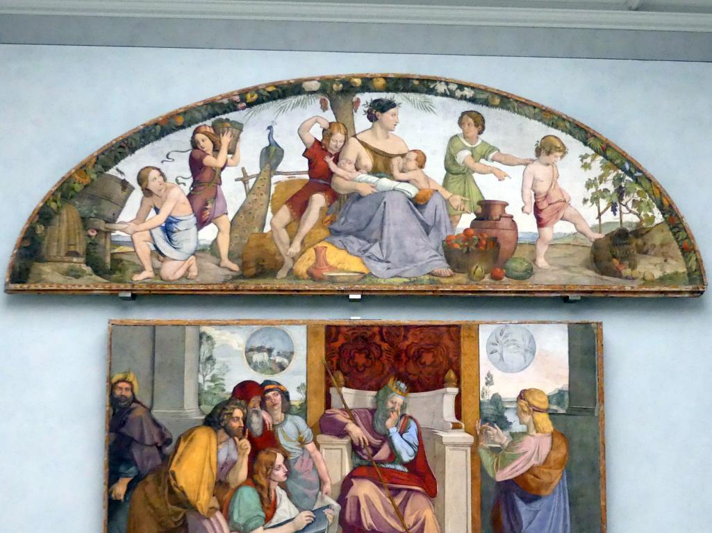 Philipp Veit: Die sieben fetten Jahre, 1816 - 1817