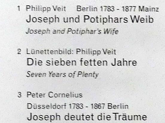 Philipp Veit: Die sieben fetten Jahre, 1816 - 1817, Bild 2/2