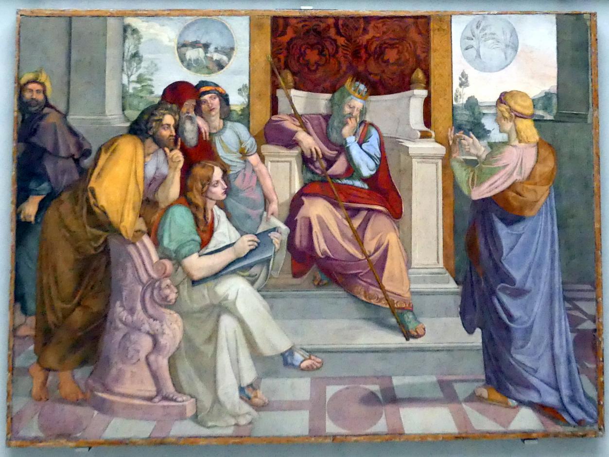 Peter von Cornelius: Joseph deutet die Träume des Pharao, 1816 - 1817