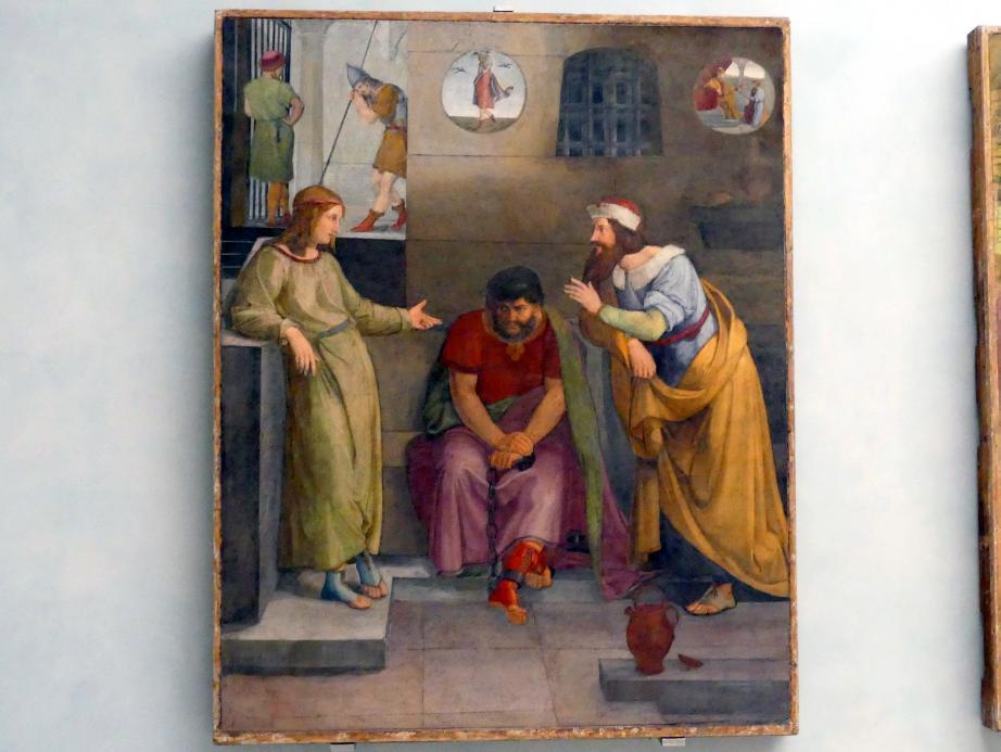 Friedrich Wilhelm von Schadow: Joseph deutet die Träume seiner Mitgefangenen, 1816 - 1817