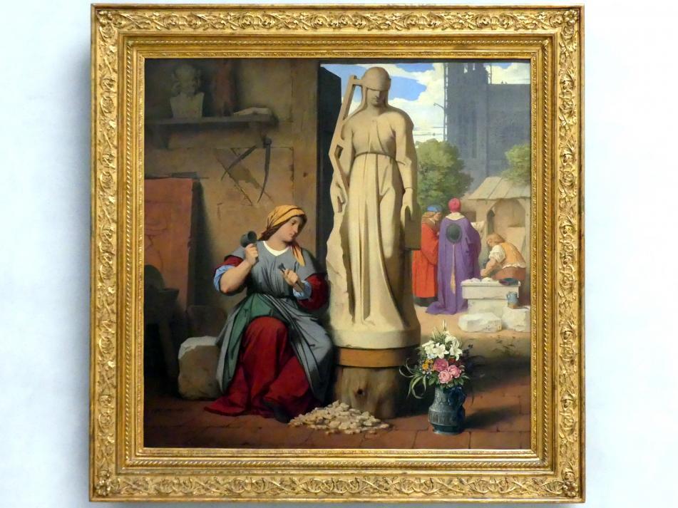 Moritz von Schwind: Sabina von Steinbach, 1844