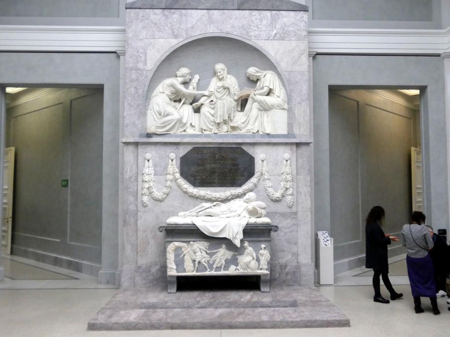 Johann Gottfried Schadow: Grabmal des Grafen Alexander von der Mark, 1788 - 1790