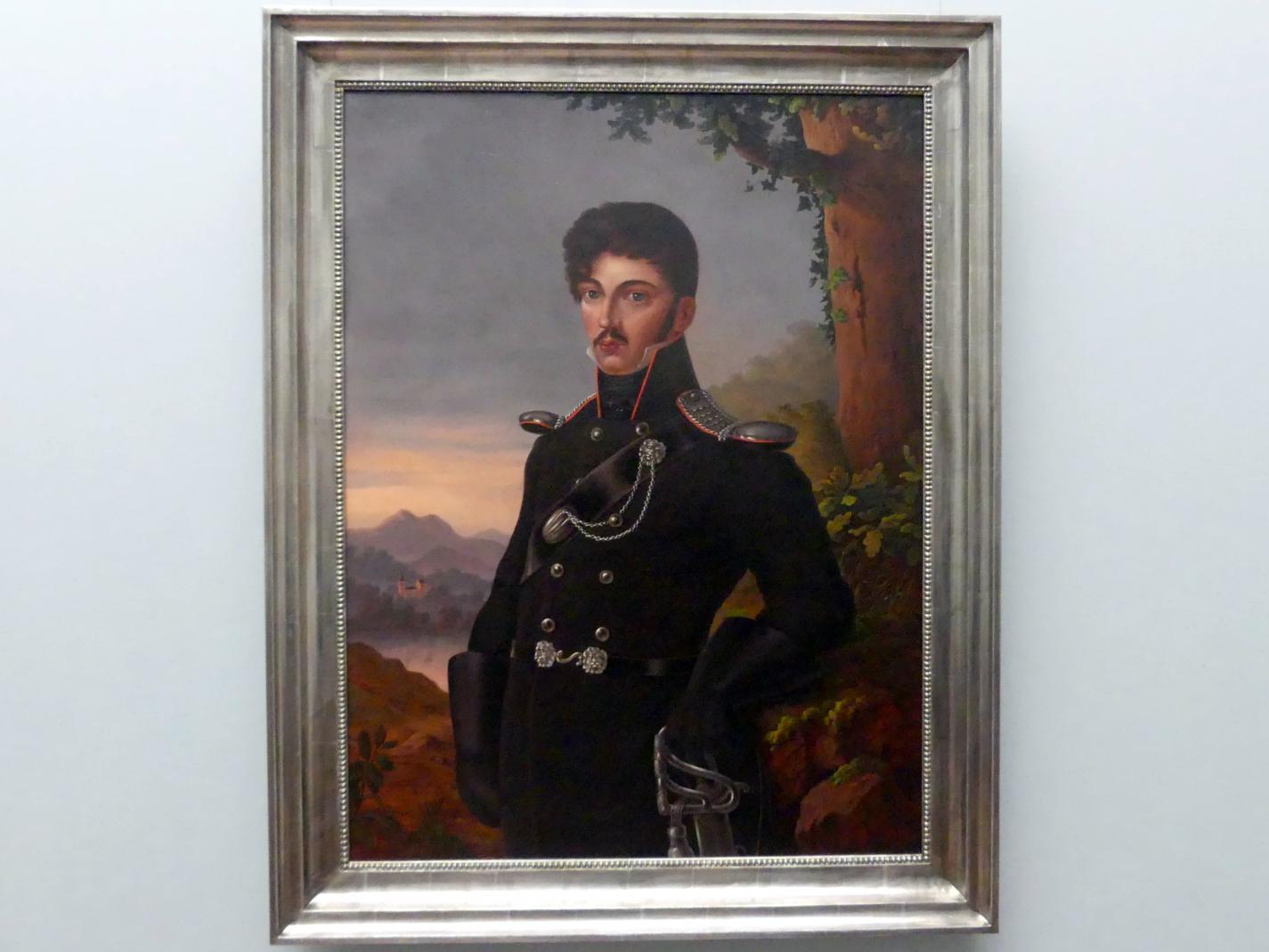 Emma Sophie Körner (Kopie): Porträt des Dichters Theodor Körner, 1813 - 1814