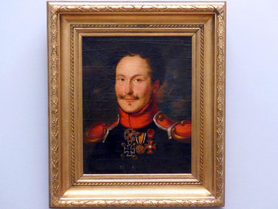 Louise Seidler: Graf Karl von der Groeben, um 1812 - 1814