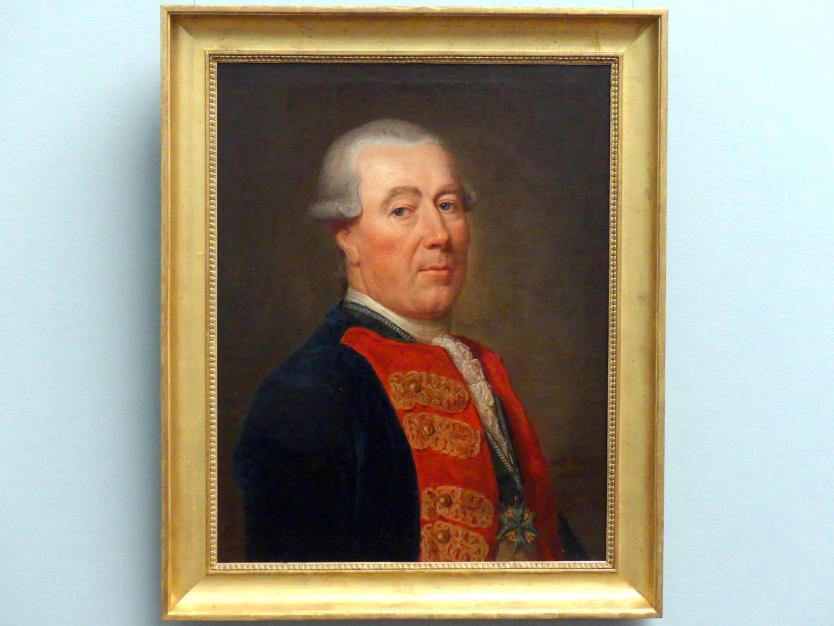 Anna Dorothea Therbusch: Bildnis des Alexander Friedrich von Woldeck, 1781