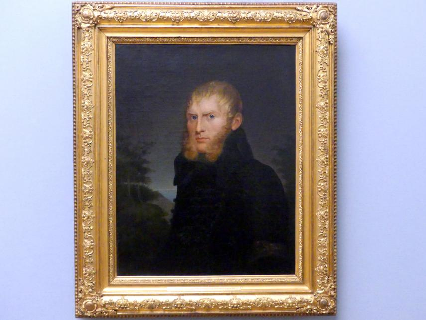 Caroline Bardua: Bildnis des Malers Caspar David Friedrich, 1810