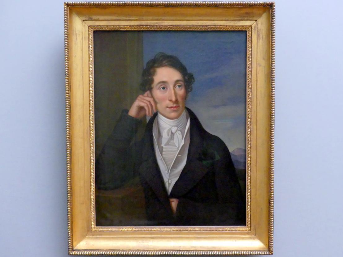 Caroline Bardua: Bildnis des Komponisten Carl Maria von Weber, 1821