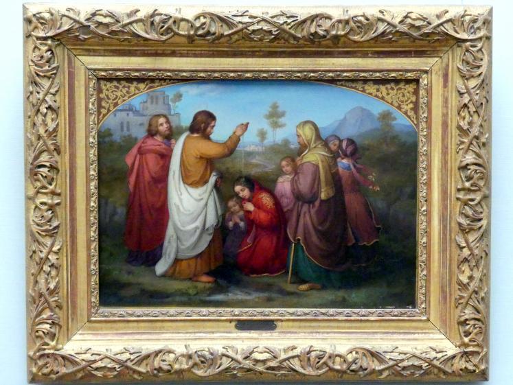 Marie Ellenrieder: Die Taufe der Lydia, 1861