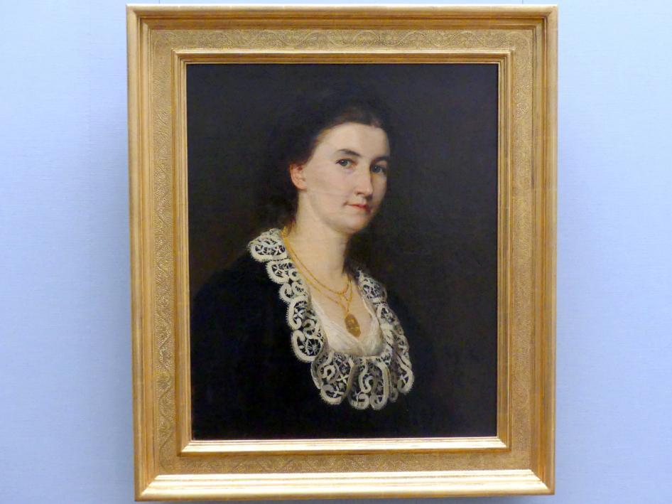 Marie Spieler: Selbstbildnis, 1876