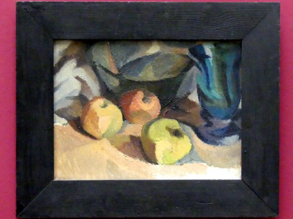 Marianne Britze: Apfelstillleben, 1914