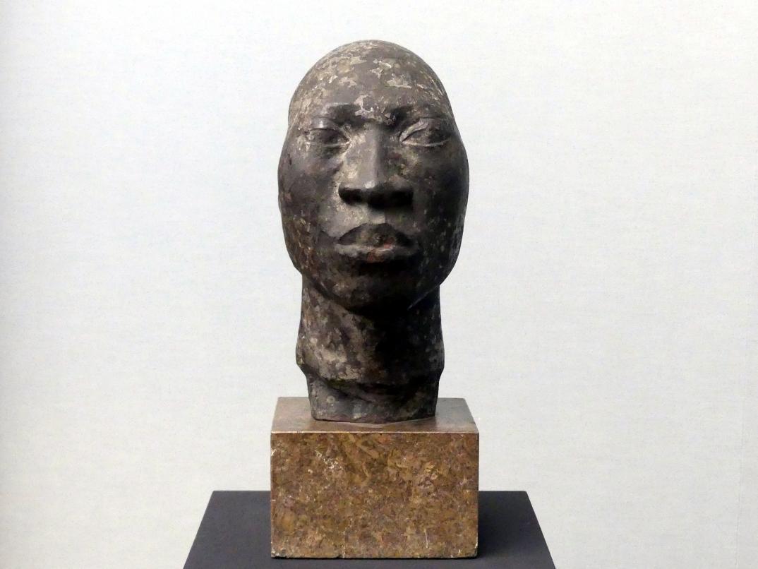 Sophie Wolff: Kopf eines Dahomeynegers, um 1914