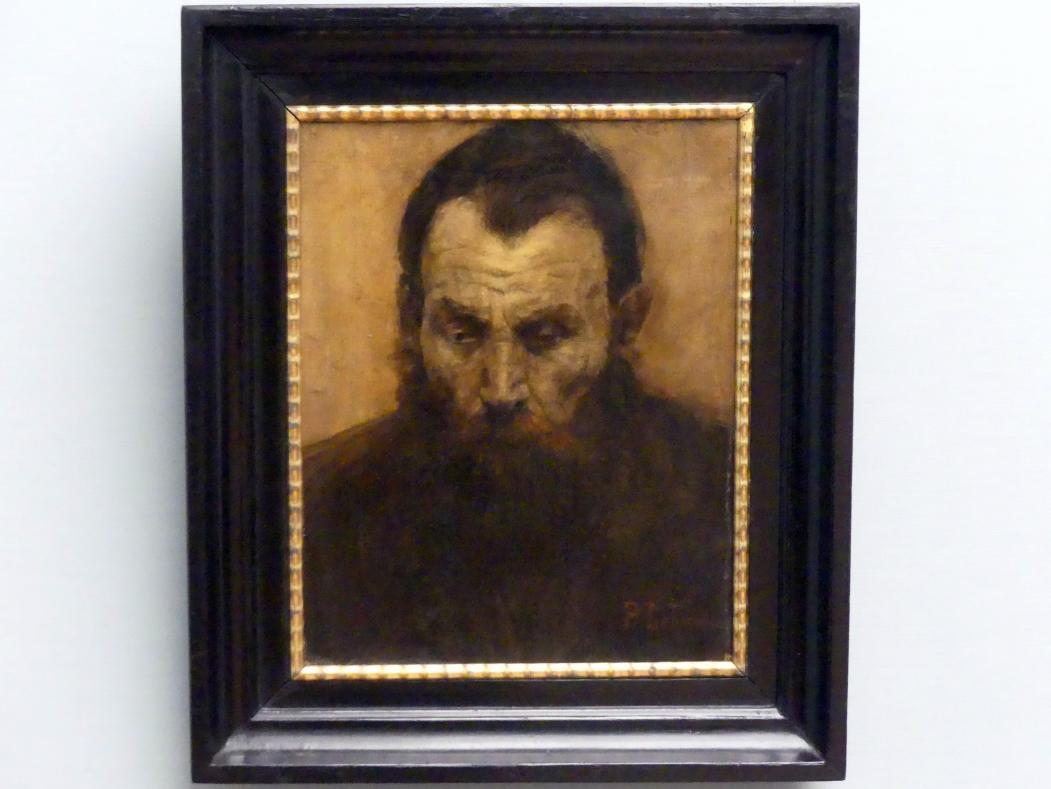 Pauline Lehmaier: Kopf eines alten Mannes, um 1908