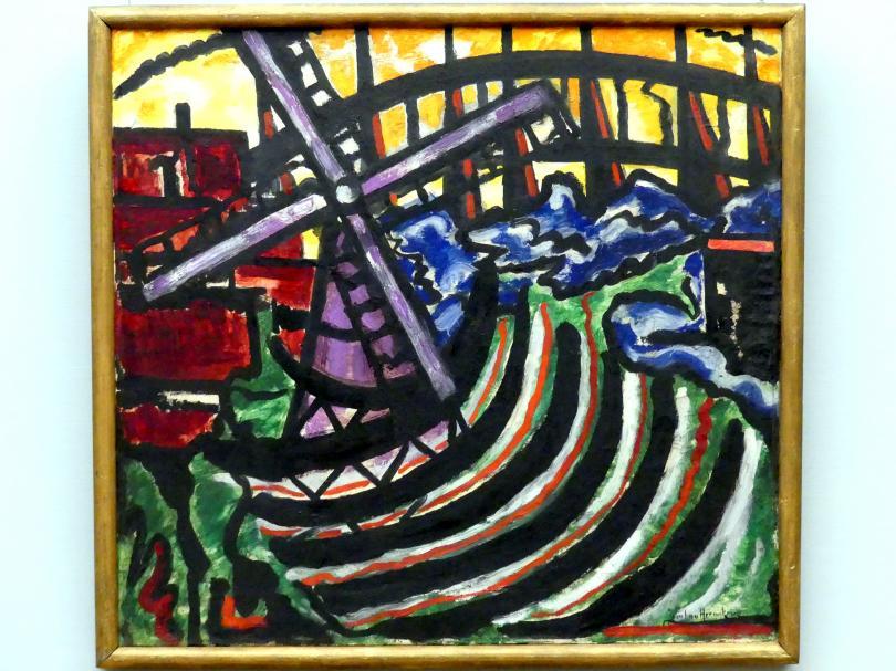 Jacoba Berendina Heemskerck van Beest: Bild 56 (Holländische Mühle), 1916