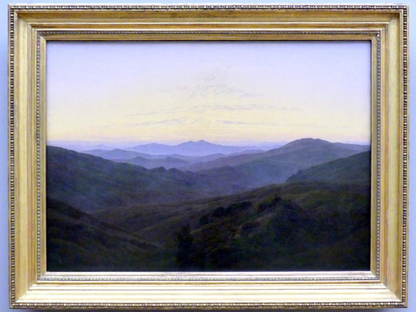 Caspar David Friedrich: Das Riesengebirge, um 1830 - 1835
