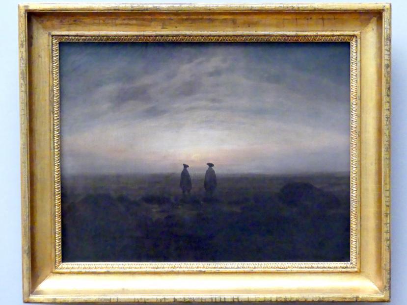 Caspar David Friedrich: Zwei Männer am Meer, 1817