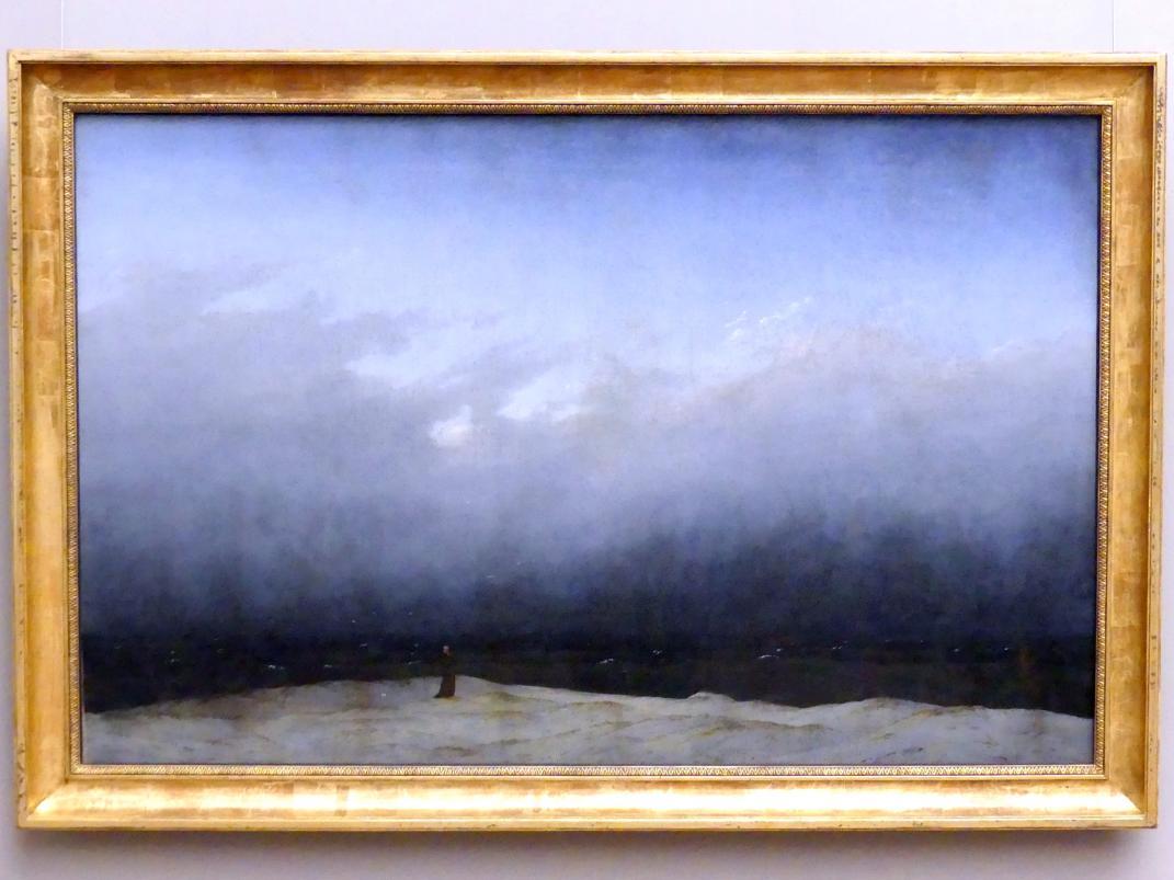 Caspar David Friedrich: Der Mönch am Meer, 1808 - 1810