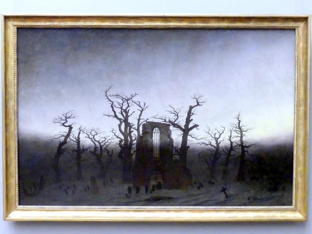 Caspar David Friedrich: Abtei im Eichwald, 1809 - 1810