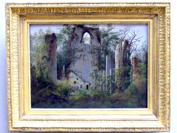 Caspar David Friedrich: Klosterruine Eldena bei Greifswald, 1824 - 1825