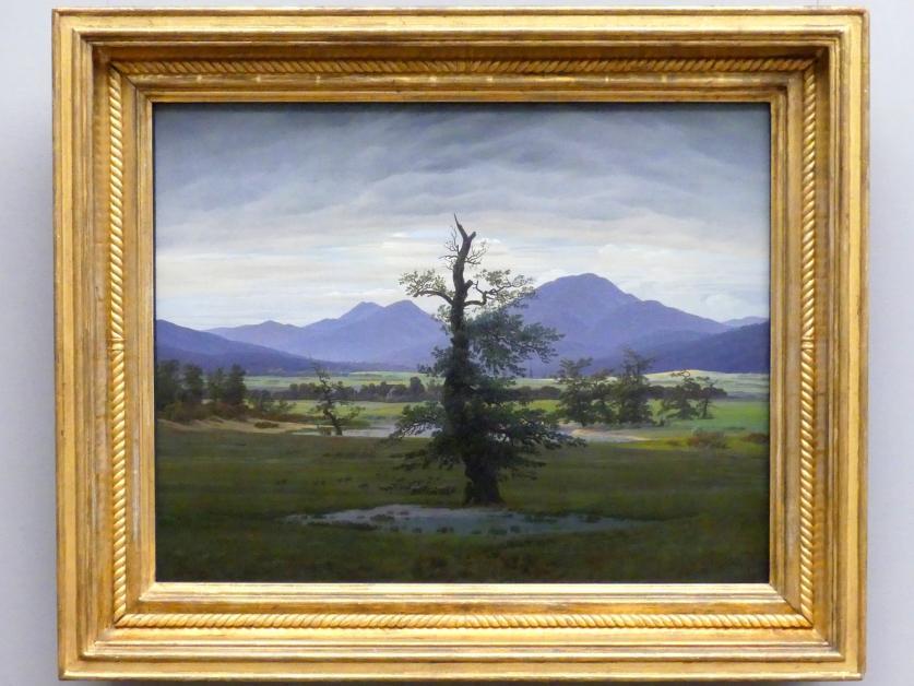 Caspar David Friedrich: Der einsame Baum, 1822