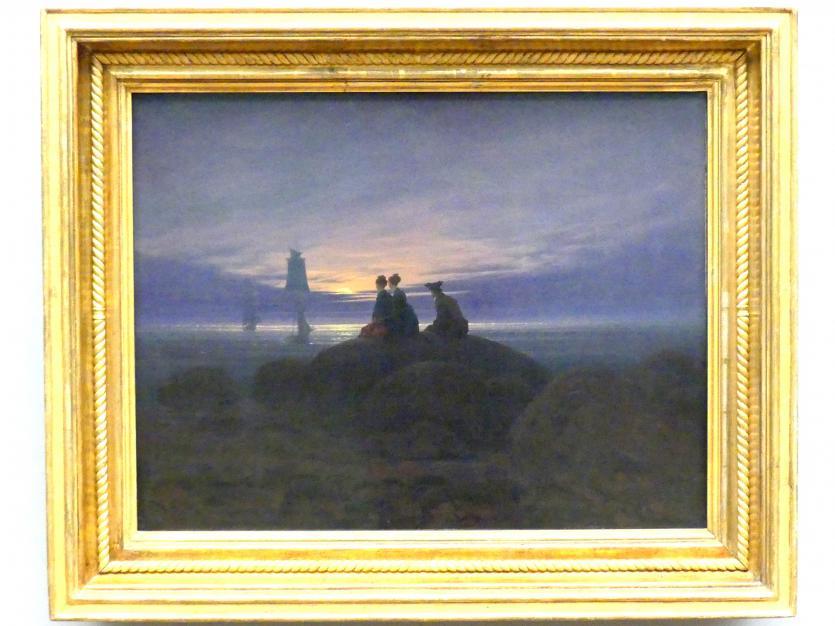Caspar David Friedrich: Mondaufgang am Meer, 1822