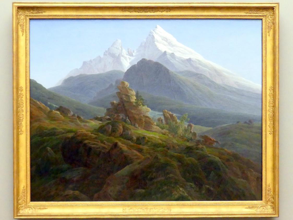 Caspar David Friedrich: Der Watzmann, 1824 - 1825