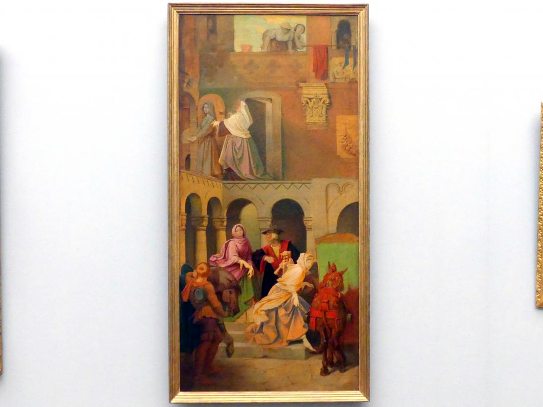 Moritz von Schwind: Aschenbrödel, Aufbruch zum Ball, 1852