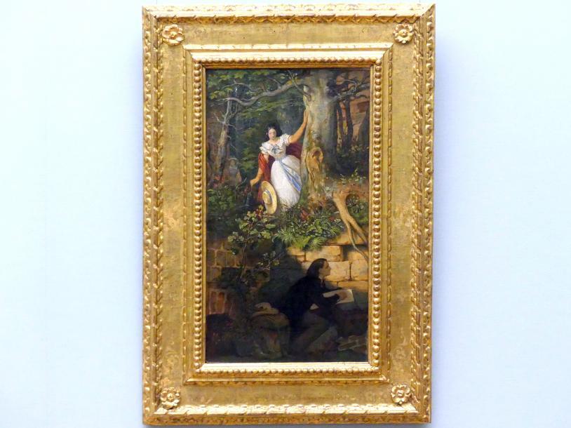 Moritz von Schwind: Abenteuer des Malers Joseph Binder, um 1860