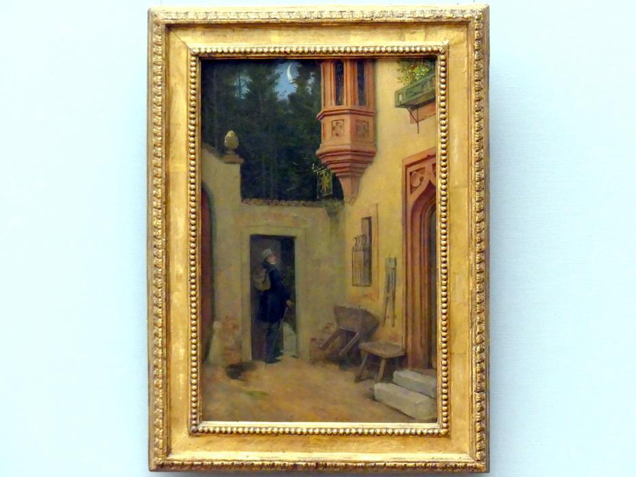 Moritz von Schwind: Abschied im Morgengrauen, 1859