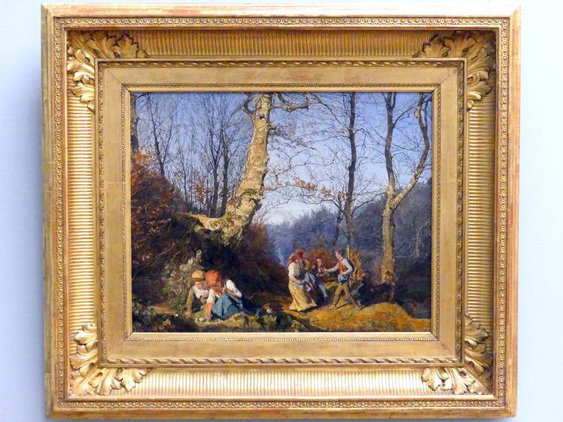 Ferdinand Georg Waldmüller: Vorfrühling im Wiener Wald, 1864