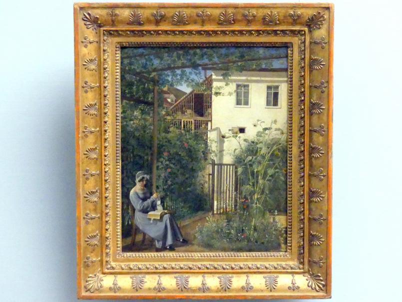 Erasmus Ritter von Engert: Wiener Hausgarten, um 1828 - 1830