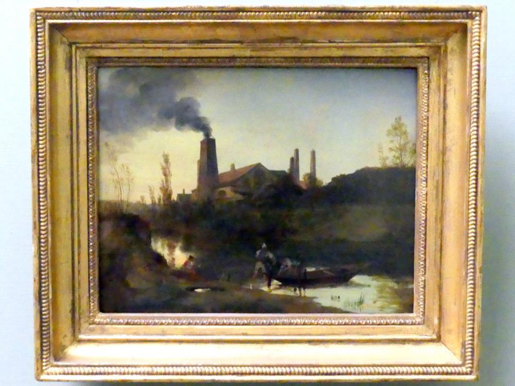 Carl Blechen: Walzwerk Neustadt-Eberswalde, 1830