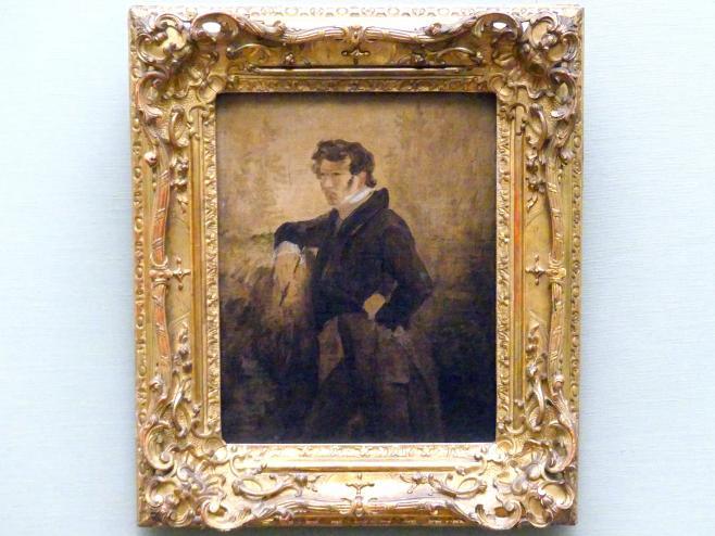 Carl Blechen: Selbstbildnis, 1823