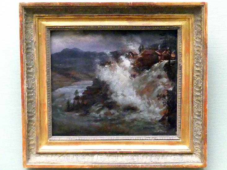 Johan Christian Clausen Dahl: Wasserfall in Norwegen, 1852